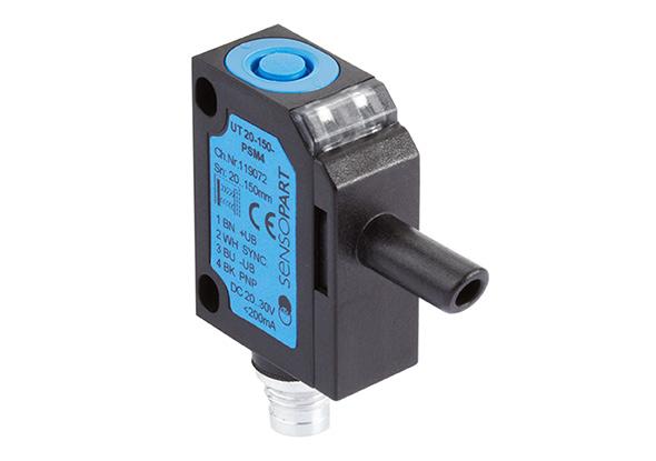 Ultrasoon sensor met geluidskegel - SensoPart