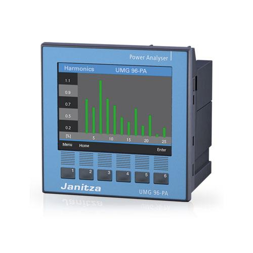 Kleurendisplay - Universeelmeter UMG 96-PA - Janitza