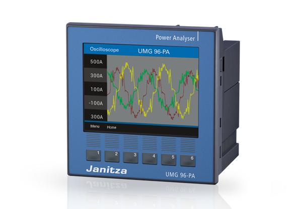 Universeelmeter UMG 96 PA - Janitza