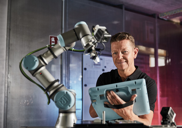 URCap - Robotic vision camera - SensoPart