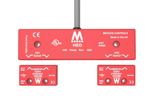 Interrupteurs de sécurité magnétiques de la série HED - Commandes mécaniques