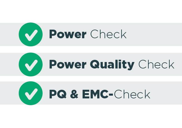 Tijdelijke meting - verschillende metingen - fortop energy control