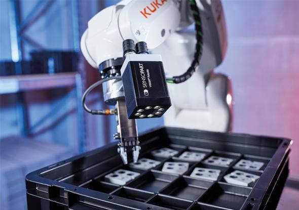KUKA app - VISOR®-Caméra de vision robotique - SensoPart