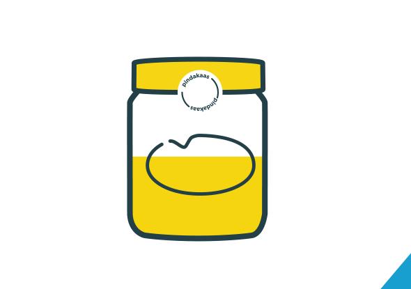 Couvercles de pots de beurre d'arachide volants - solution client fortop